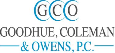 Goodhue, Coleman & Owens, P.C. logo